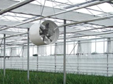 Fans and humidification systems